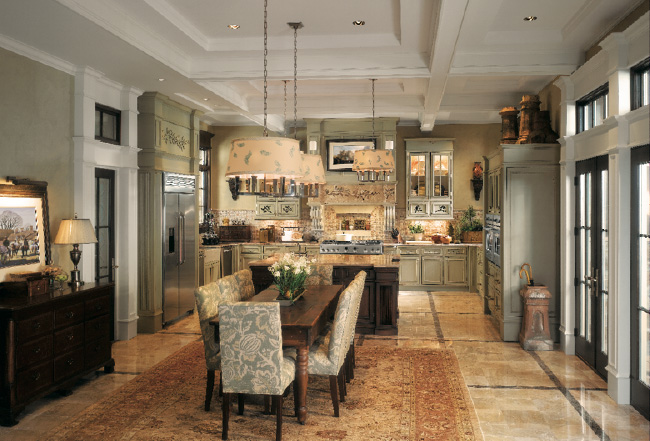 picture of a Monogram kitchen