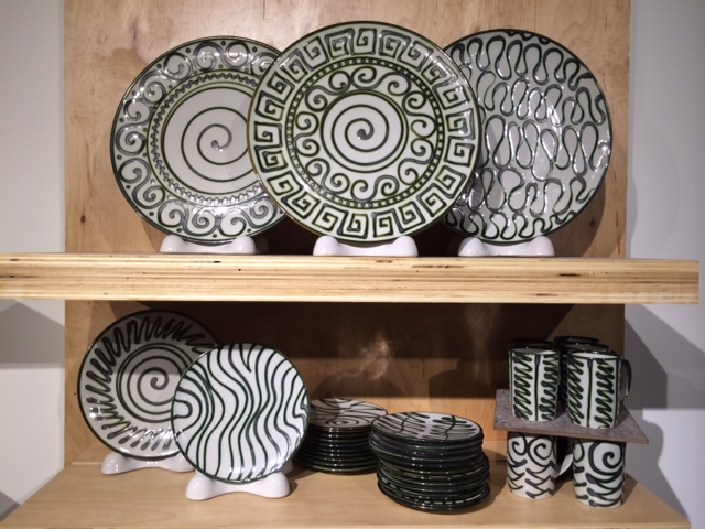 Designs. So many options to choose from. This is certainly not my grandmother's stoneware!