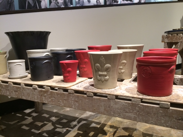 Planters … so good looking, I'd put them outside or inside!