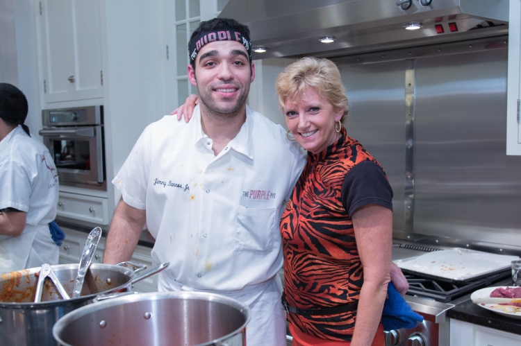 Chef Jimmy Bannos Jr. and Sheri Gold, Chicago Monogram Design Center Manager