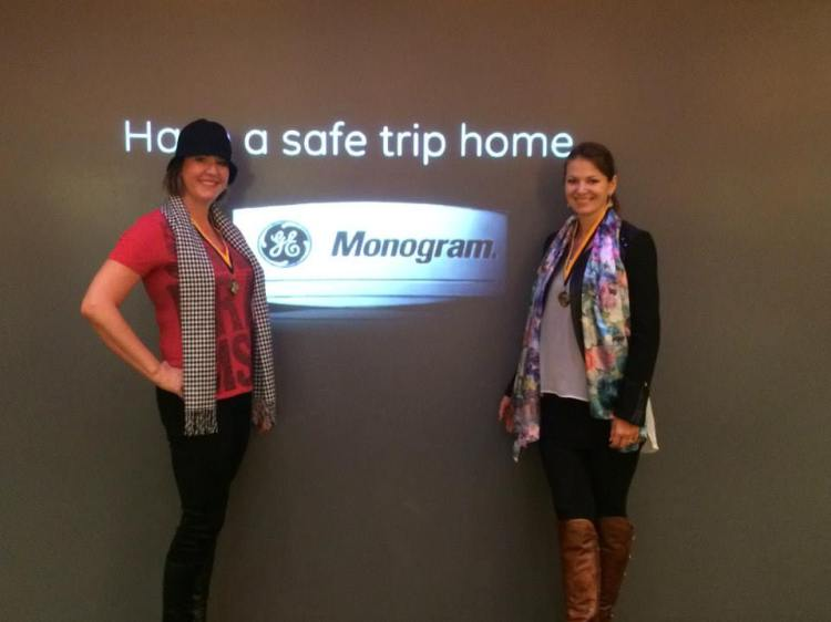 Designers Eva Murzauite and Brandy Holden from Interiors in Design visited the GE Monogram Experience Center in Louisville, Kentucky.