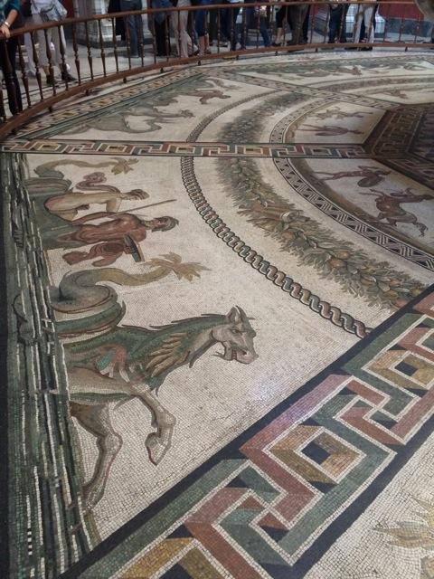 The floor of the Vatican Museum