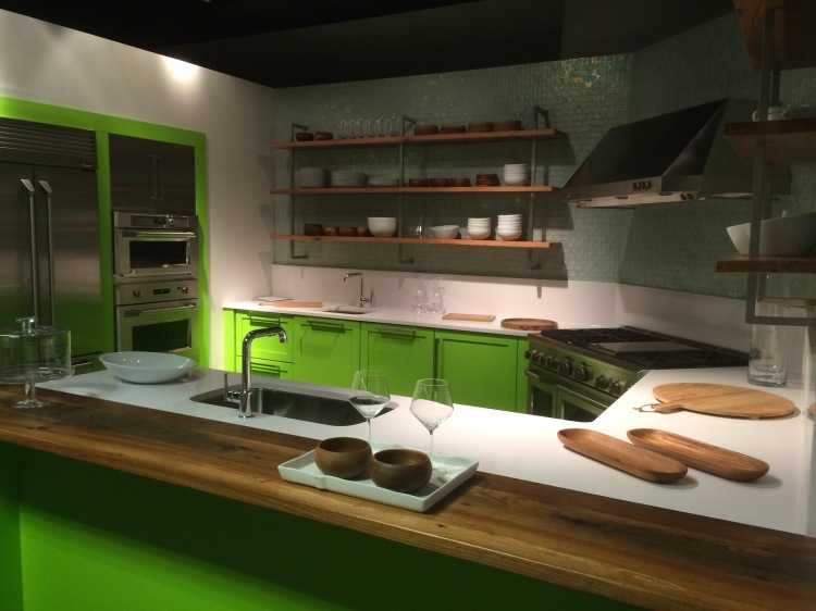The Green with Envy kitchen is just waiting for its final details.