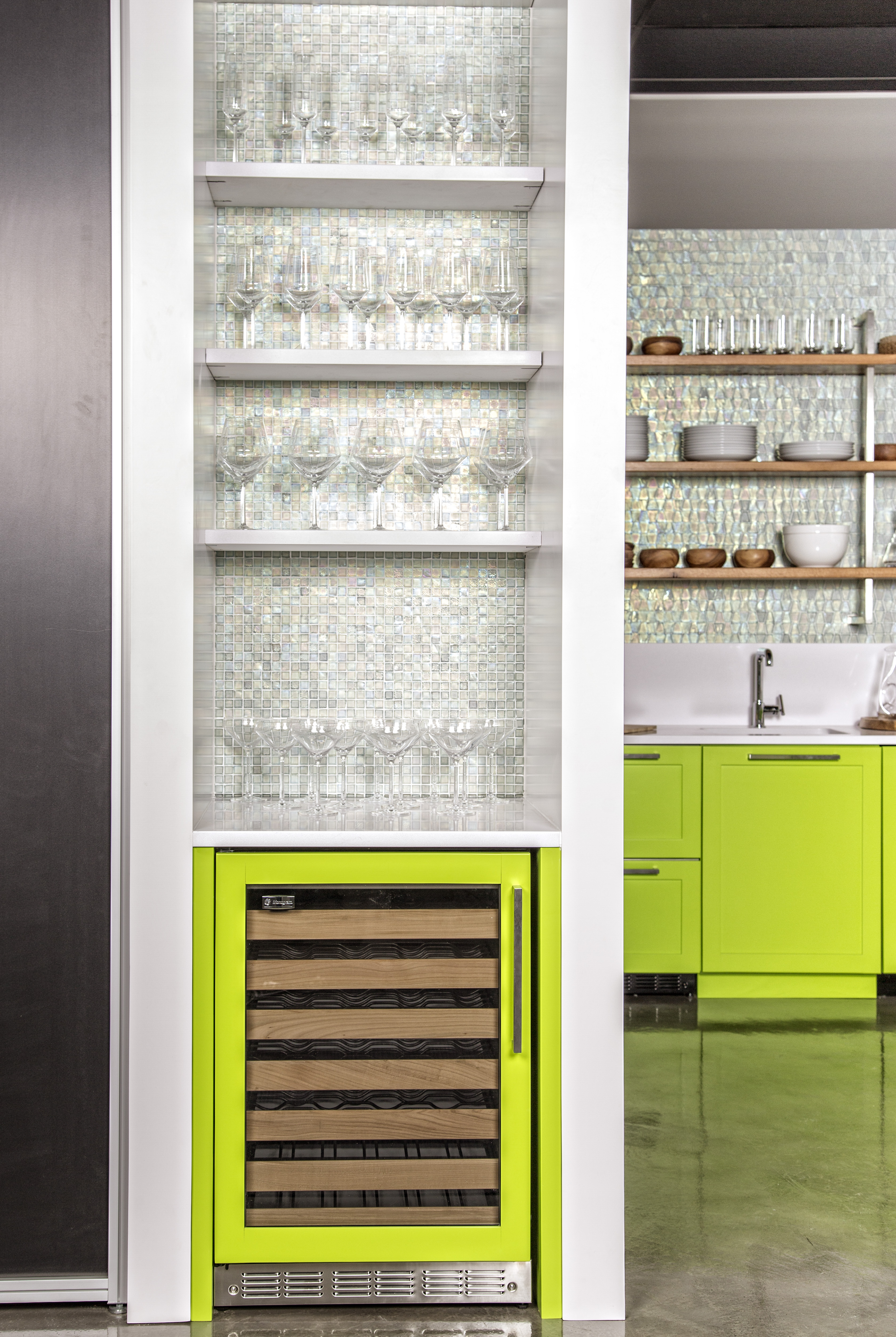 Green With Envy Kitchen Revealed Save Room For Design