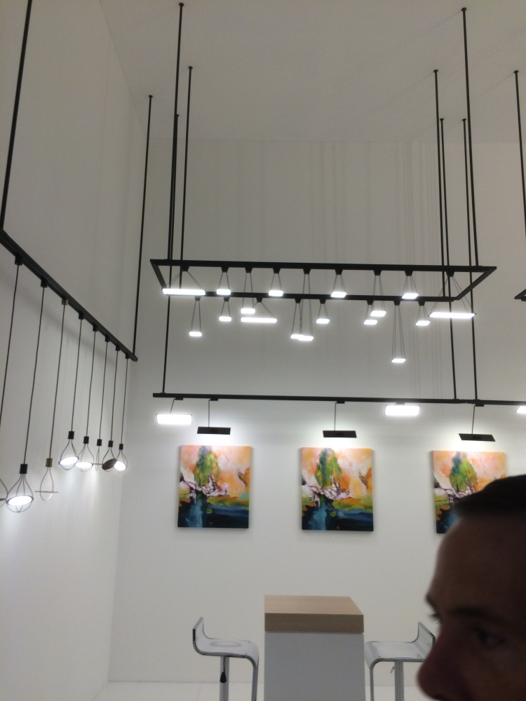 LG Chem's OLED based lighting is dramatic and functional