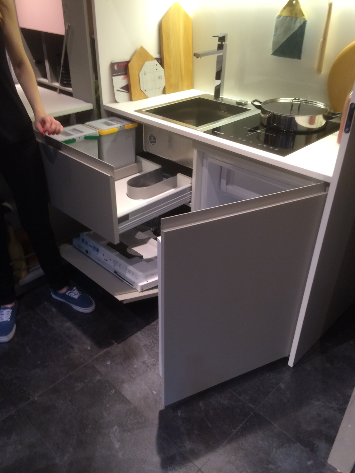 Kitchen in a box.