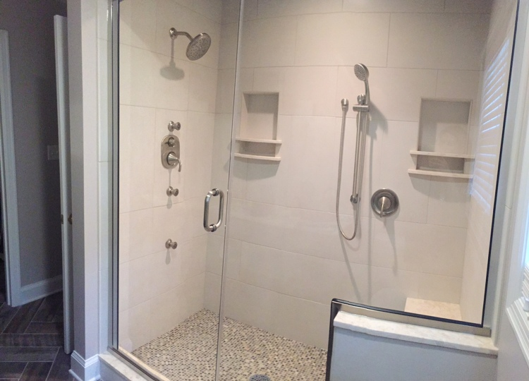 Final, beautiful shower!