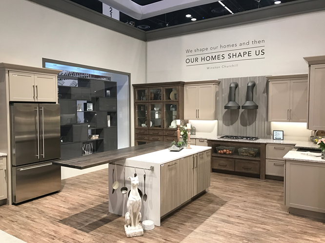 MasterBrand Cabinets KBIS booth