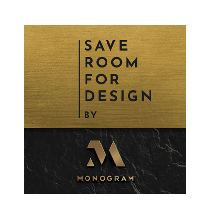 Save Room For Design by Monogram Appliances